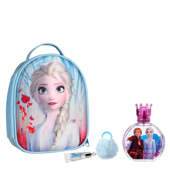 Frozen Frozen II EDT Set 100 ml Vaporizador + Brillo de Labios