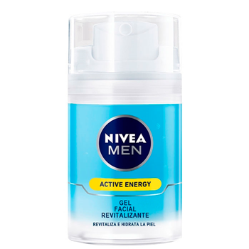 NIVEA MEN Active Energy Gel Facial Revitalizante 50 ml