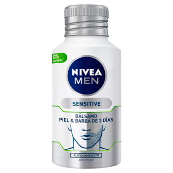 NIVEA MEN Sensitive Bálsamo Piel & Barba de 3 Días 125 ml