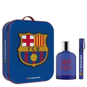 F.C Barcelona F.C Barcelona EDT Estuche 100 ml Vaporizador + 10 ml Roll-On + Neceser