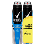Cobalt Blue Desodorante Spray Men Pack de Rexona