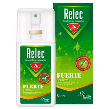 Relec Repelente de Mosquitos Fuerte 75 ml