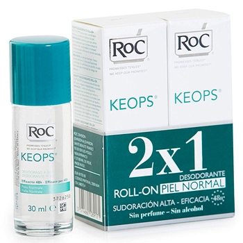 Roc Desodorante Roll-On Piel Normal 30 ml + 30 ml