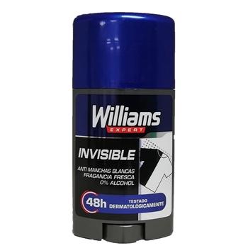 DESODORANTE INVISIBLE STICK de Williams Expert