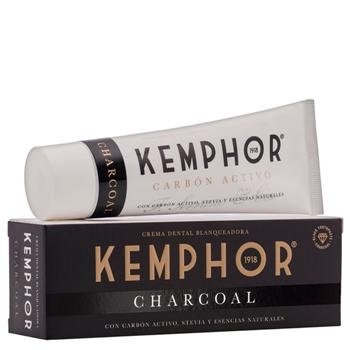 Charcoal Blanqueadora Crema Dental de Kemphor