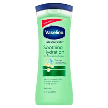 Vaseline Intensive Care Soothing Hydration Lotion 400 ml