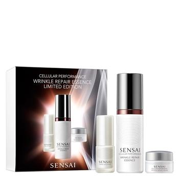 """SENSAI Cellular Performance Wrinkle Repair Essence Estuche """"Edición Limitada"""" 40 ml + 2 Productos"""