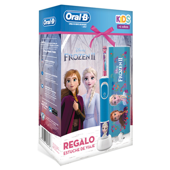 Cepillo Eléctrico Kids Frozen II Estuche de Oral-B