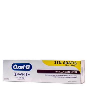 3D White Luxe Brillo Seductor Dentífrico de Oral-B