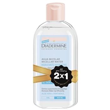Diadermine Agua Micelar Hidratante 200 ml + 200 ml