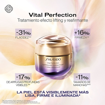 Vital Perfection Uplifting and Firming Cream Enriched de Shiseido