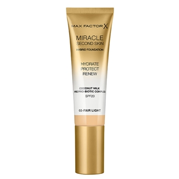 Max Factor Miracle Touch Second Skin Nº 02 Fair Light