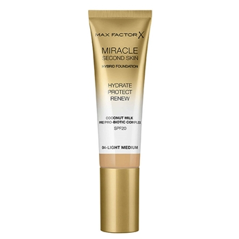Max Factor Miracle Touch Second Skin Nº 04 Light Medium