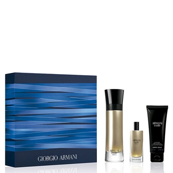 Armani CODE ABSOLU Estuche 110 ml Vaporizador + Shower Gel 75 ml + 15 ml Vaporizador