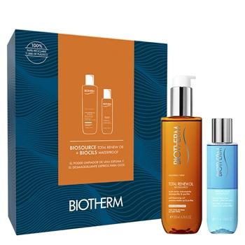 BIOTHERM Biosource Total Renew Oil Estuche 200 ml + Biocils Waterproof 100 ml