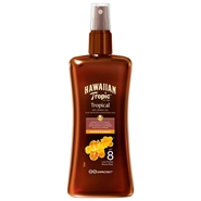 Protective Dry Spray Oil SPF8 de Hawaiian Tropic