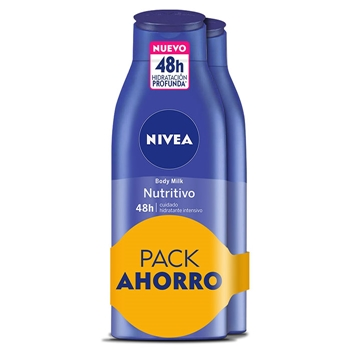 NIVEA Body Milk Nutritivo 400 ml + 400 ml
