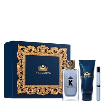 Dolce & Gabbana K by Dolce & Gabbana Estuche 100 ml Vaporizador + Bálsamo After Shave 75 ml + 10 ml
