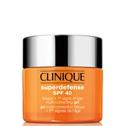 Superdefense SPF40 Gel Antifatiga + Primeros Signos de CLINIQUE