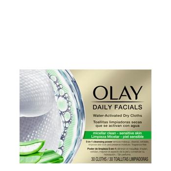 Olay Daily Facials Toallitas Piel Sensible 30 Unidades