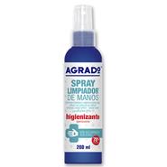 Spray Higienizante de Manos de Agrado