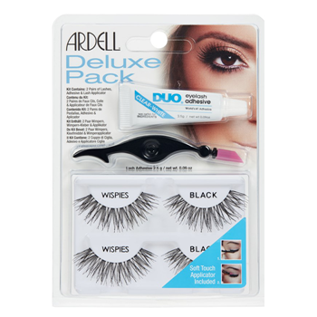 Ardell Deluxe Pack Wispies Black 4 Productos