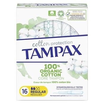 Tampax COTTON PROTECTION Regular 16 Unidades