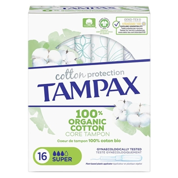 Tampax COTTON PROTECTION Super 16 Unidades