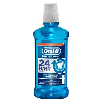 Oral-B Pro-Expert Enjuague Bucal Dientes Fuertes 500 ml