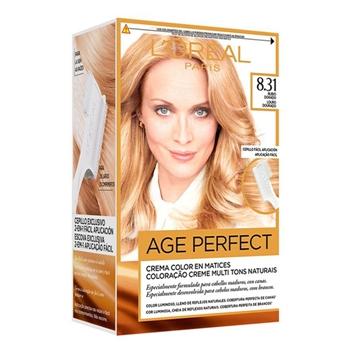 L'Oréal Excellence Age Perfect Nº 8.31 Rubio Dorado 1 Unidad