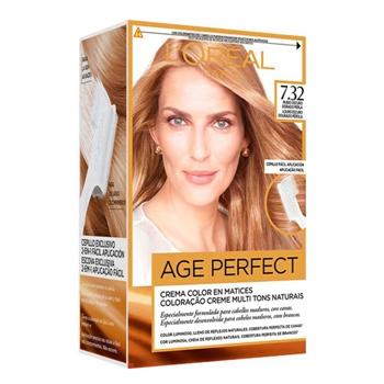 Excellence Age Perfect Nº 7.32 Rubio Dorado Perla de L'Oréal