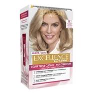 Excellence Creme Nº 9.1 Rubio Claro Claro Ceniza de L'Oréal