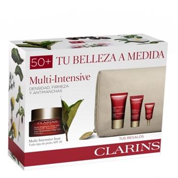 Clarins Multi-Intensive Crème Haute Exigence Jour SPF 20 Estuche 50 ml + 3 Productos + Neceser