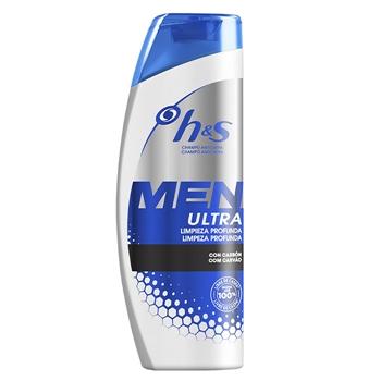 H&S Champú Anticaspa Men Ultra Limpieza Profunda 600 ml