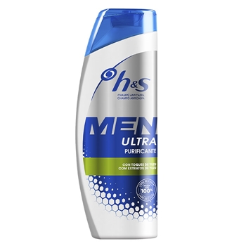H&S Champú Anticaspa Men Ultra Purificante 600 ml