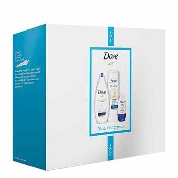 DOVE Dove Gel de Baño Hidratación Profunda Estuche 250 ml + 2 Productos