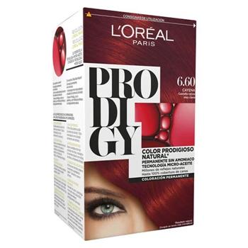 L'Oréal Prodigy Nº 6.60 Cayena Castaño Rojizo Muy Claro 1 Unidad