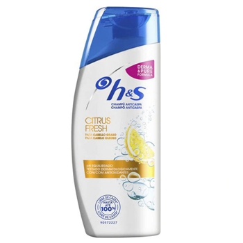 H&S Champú Anticaspa Citrus Fresh 540 ml