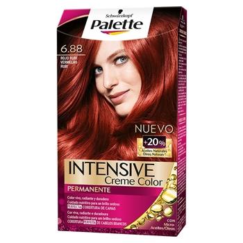 Intense Color Cream Tinte Cabello Nº 6.88 Rojo Rubi de Palette