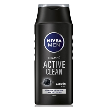 NIVEA MEN Active Clean Champú 250 ml