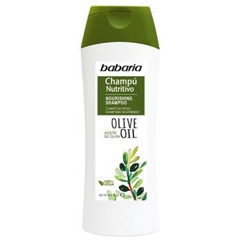 Babaria Champú Nutritivo Aceite de Oliva 400 ml