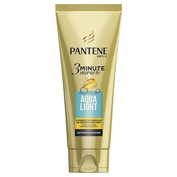Pantene Aqua Light 3 Minute Miracle Acondicionador 180 ml