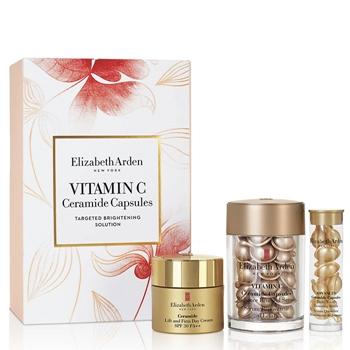 Elizabeth Arden Vitamin C Ceramide Capsules Radiance Renewal Serum Estuche 30 Cápsulas + 2 Productos
