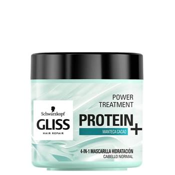 Gliss Protein+ 4 en 1 Mascarilla Hidratación 400 ml