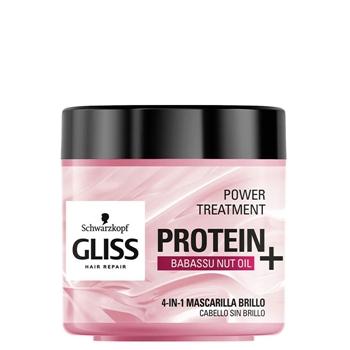Protein+ 4 en 1 Mascarilla Brillo de Gliss