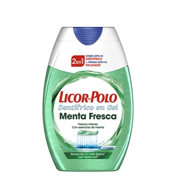 Licor del Polo Dentífrico 2 en 1 Menta Fresca 100 ml