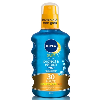 NIVEA Protege & Refresca Spray Solar SPF30 200 ml