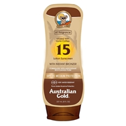 Lotion Sunscreen with Instant Bronzer SPF15 de Australian Gold