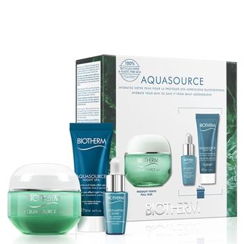 BIOTHERM Aquasource Gel Piel Normal Mixta Estuche 50 ml  + 2 Productos