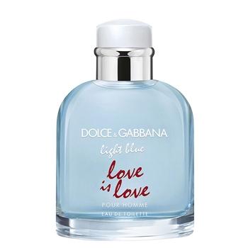 "Dolce & Gabbana LIGHT BLUE LOVE IS LOVE Pour Homme ""Limited Edition"" 125 ml Vaporizador"